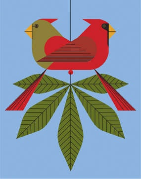 Cardinals-consorting-charley-harper