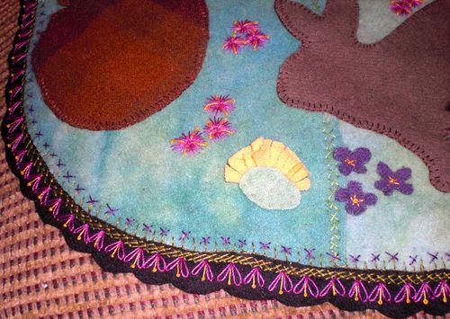 Bunny mat edge
