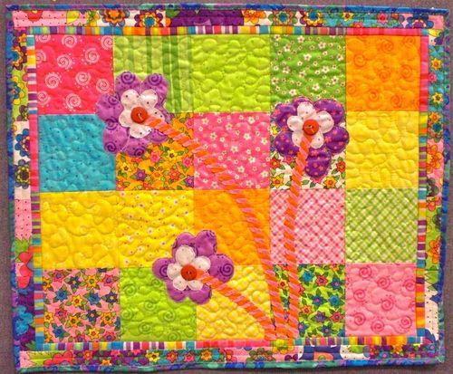 Flower quilt Alice