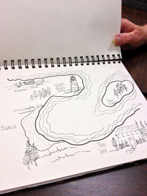Sandy's map