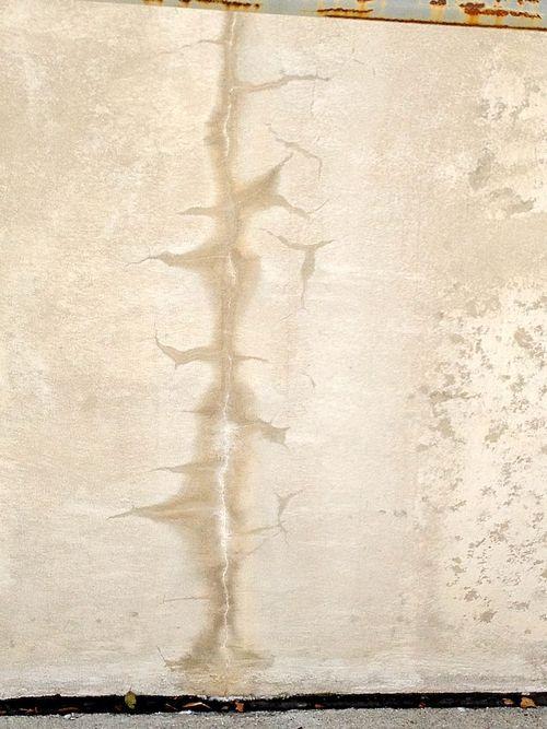 Concrete scar