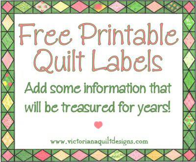 Quilt Label Templates : quilt label templates Quotes