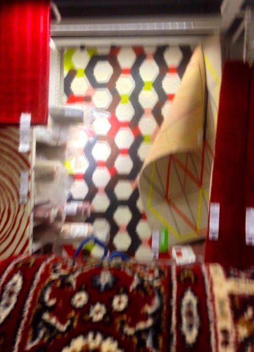Hex rug