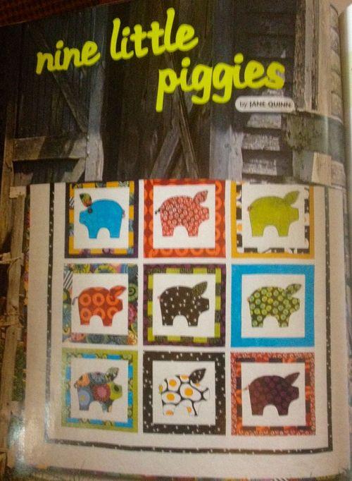 Piggy quilt