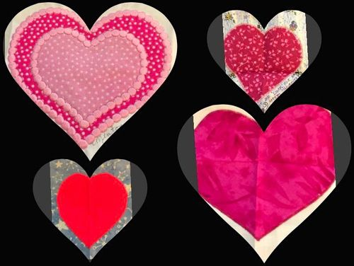 Hearts 2 collage