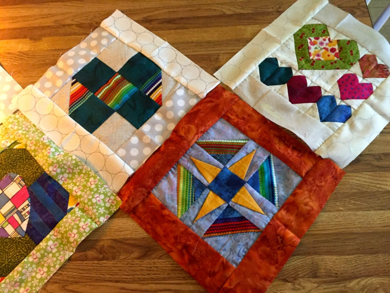 Splendid sampler blocks 1