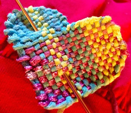 Pink-blue heart
