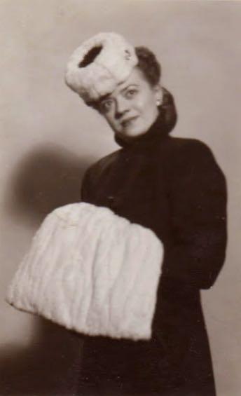 Phyllis in costume