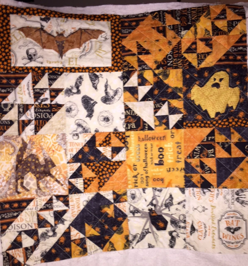 Halloween quilted