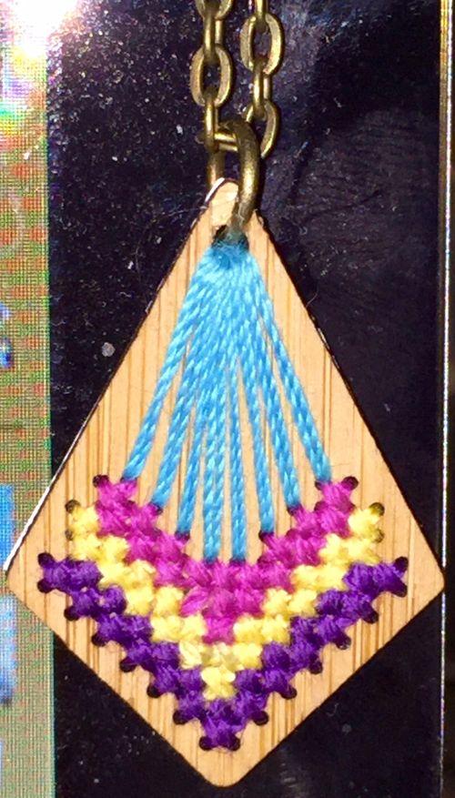 Bamboo pendant