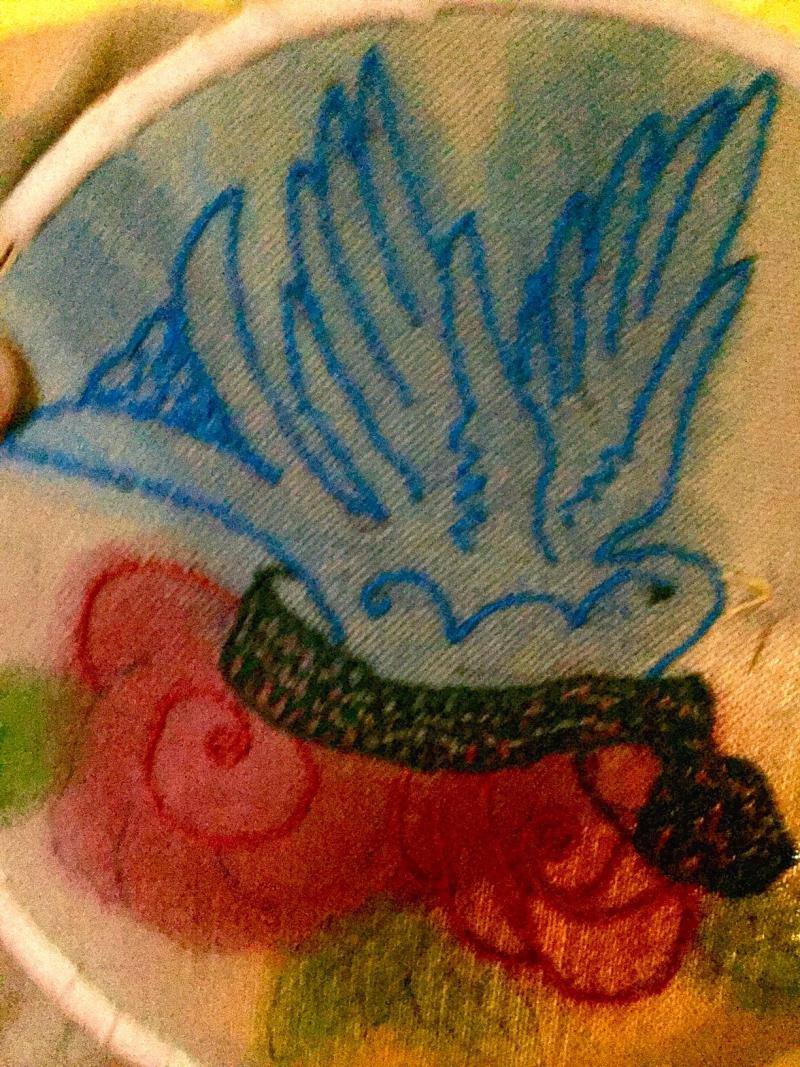 Bluebirdnroses