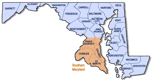 Southern-Maryland-service-area-map