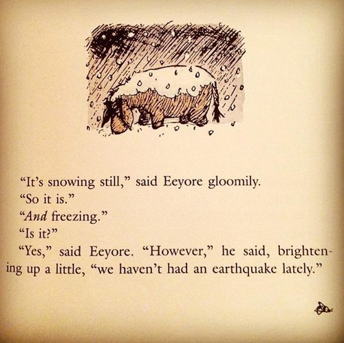 Eyeore winter