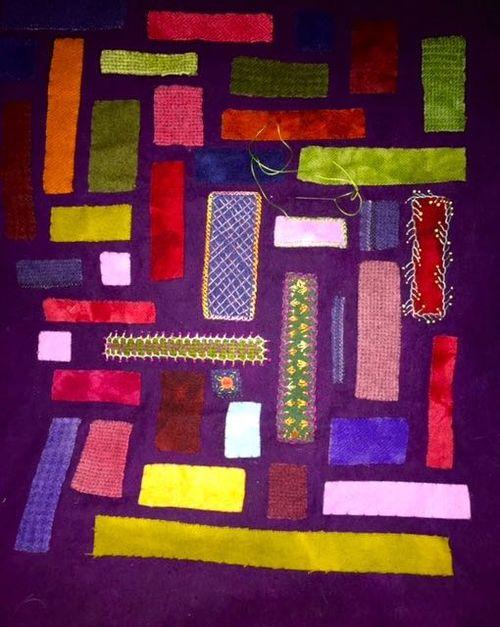 Mosaic sampler