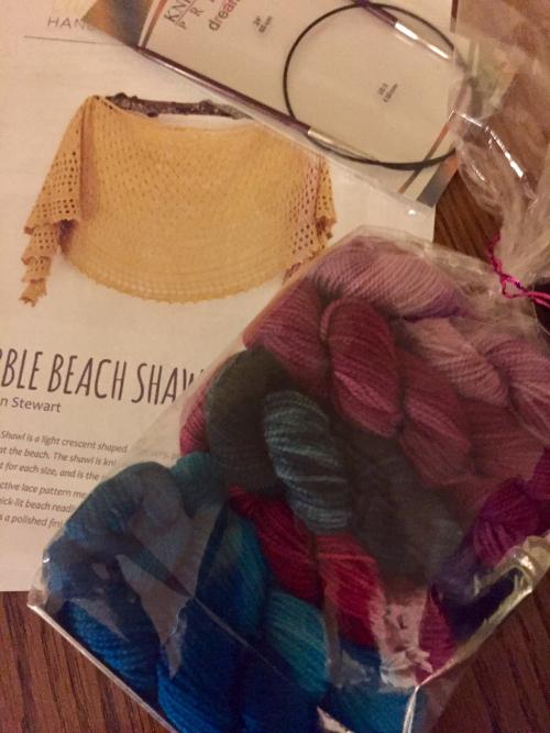 Beach shawl