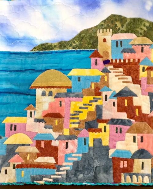Oceanfront village