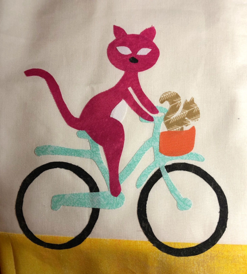 Cat bike row