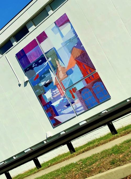 Csg mural
