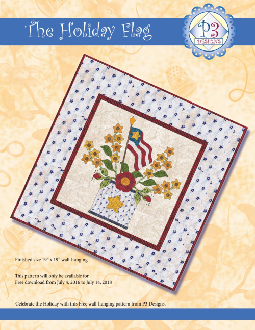 The_holiday_flag_wall_hanging_cover_2018