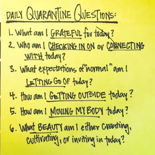 Quarantine questios