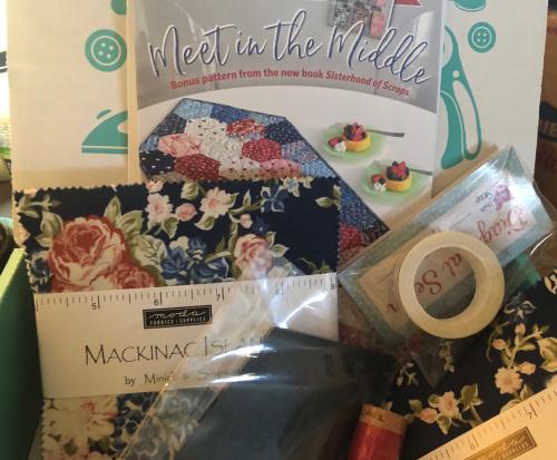 Feb sew sampler box