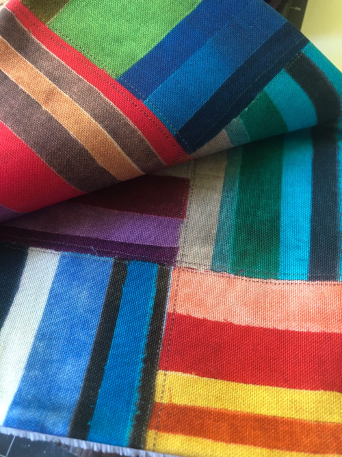 Derse rainbow fabric