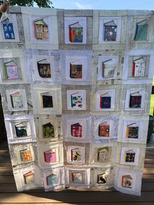 Book quilt top