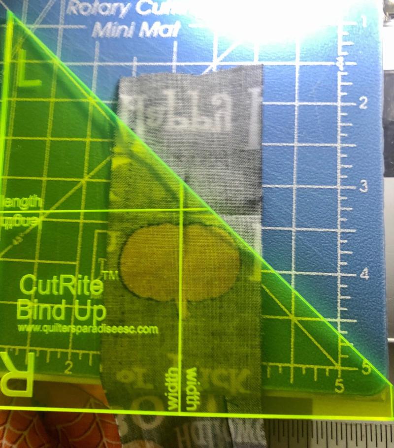Binding ruler