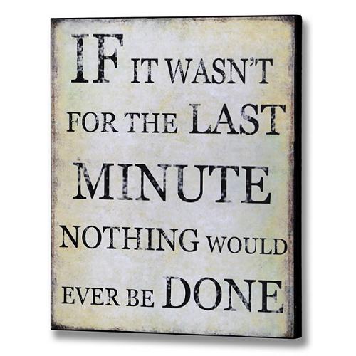 Last-minute-quote
