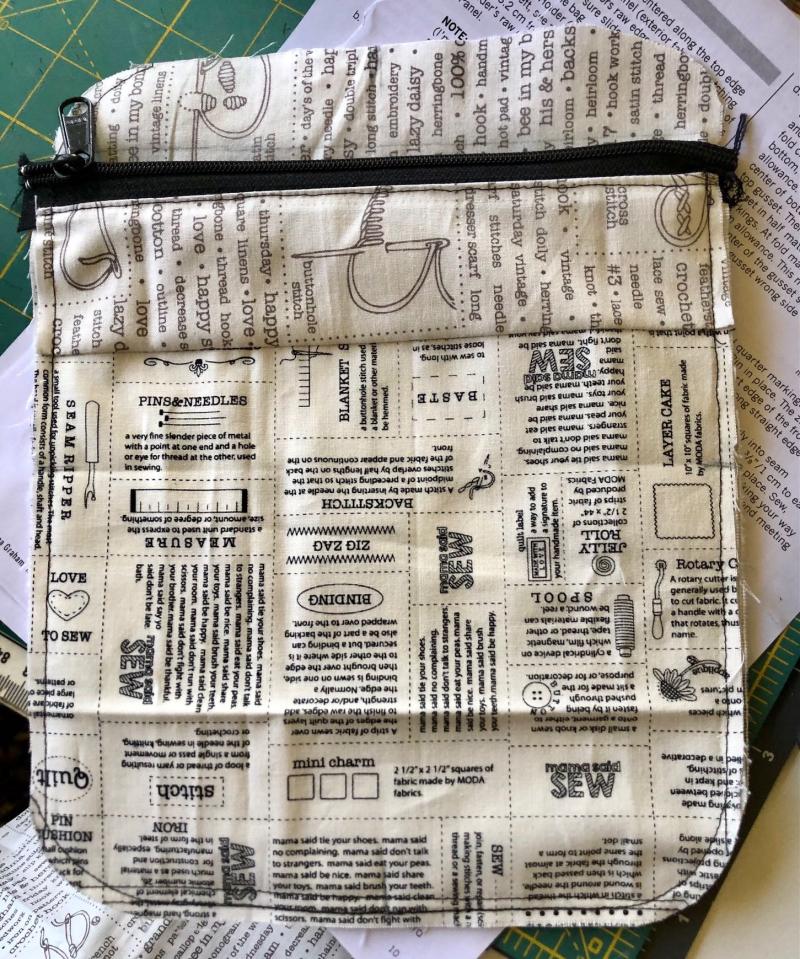 Bag inside pocket